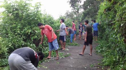 Swadaya Gotongroyong Pemuda Desa Nagasepaha